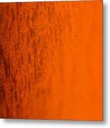 Orange Gradient Metal Print