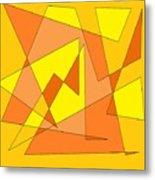 Orange You Banana Metal Print