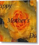 Orange You Lovely Mothers Day Metal Print
