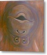 Orangutan Love Metal Print