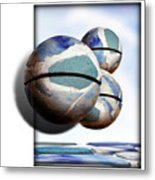 Orbiting Out Metal Print
