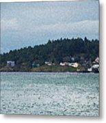 Orcas Island View  Metal Print