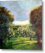 Orchard Metal Print