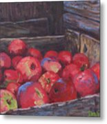 Orchard's Harvest Metal Print