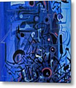 Orchestra Section  Metal Print