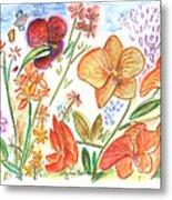 Orchid No. 9 Metal Print
