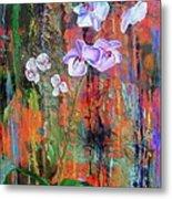 Orchid O Metal Print