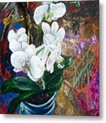 Orchid You Metal Print