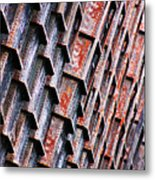 Ore Dock Rust Metal Print