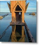 Ore Dock Too Metal Print