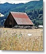 Oregon Barn Metal Print