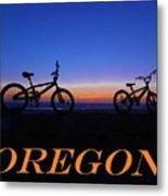 Oregon Bikes 2 Metal Print