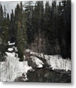 Oregon Cascade Range River Metal Print