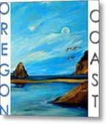 Oregon Coast Graphics Metal Print