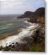 Oregon Coast Metal Print