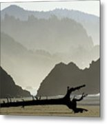 Oregon Coastal Beach Metal Print