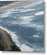 Oregon Coastline Metal Print