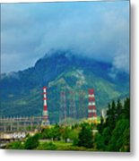 Oregon Columbia River - River View Metal Print