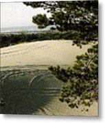 Oregon Dunes 3 Metal Print