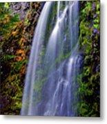 Oregon Falls Metal Print
