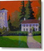 Oregon Farmhouse  Metal Print