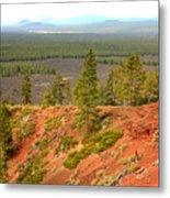Oregon Landscape - View From Lava Butte Metal Print