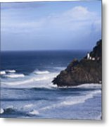 Oregon Lighthouse Metal Print