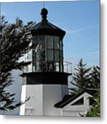 Oregon Lighthouses - Cape Meares Lighthouse Metal Print by Christine Till