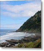 Oregon Ocean View - 6 Metal Print