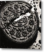 Oreo Cookie Metal Print by Nancy Mueller
