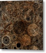 Organic Forms Metal Print