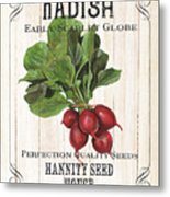 Organic Seed Packet 3 Metal Print