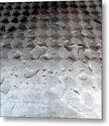 Organic Vs Geometric Metal Print