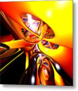 Organized Confusion Abstract Metal Print