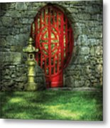 Orient - Door - The Moon Gate Metal Print