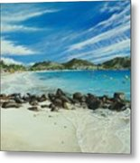 Orient Beach Metal Print