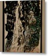 Oriental Falls Metal Print