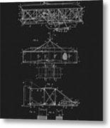 Original 1906 Wright Brothers Full Patent Metal Print