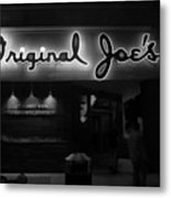 Original Joe's  San Jose Bw Metal Print