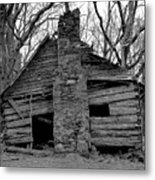 Original Old Home Metal Print