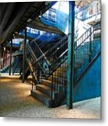 Original Old Stairs Metal Print