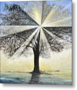 original Tree Light Metal Print