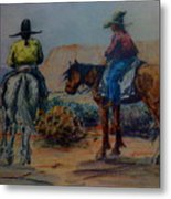 Original Western Artwork 23 Metal Print
