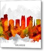 Orlando Florida Cityscape 15 Metal Print
