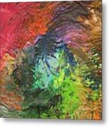 Orlando United Color Blend Metal Print