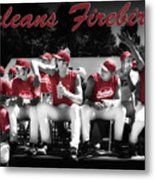Orleans Firebirds Baseball Team Metal Print