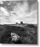 Orme Rocks Metal Print