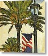 Ormond Beach Patriotic Metal Print