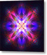 Ornament Of Light Metal Print