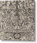 Ornament Panel: Mars, God Of Battles Metal Print
